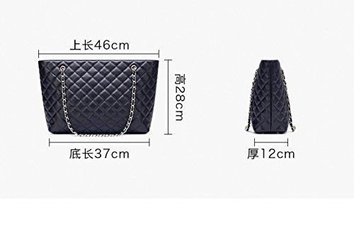 Nouvelle Sac Simple De Gueules De Black Sac Chaîne Dame À De Occasionnels Main Mode À Diamant GWQGZ Bandoulière 1fqdSw1