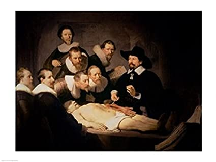 Amazon.com: The Anatomy Lesson of Dr. Nicolaes Tulp, 1632 Print ...