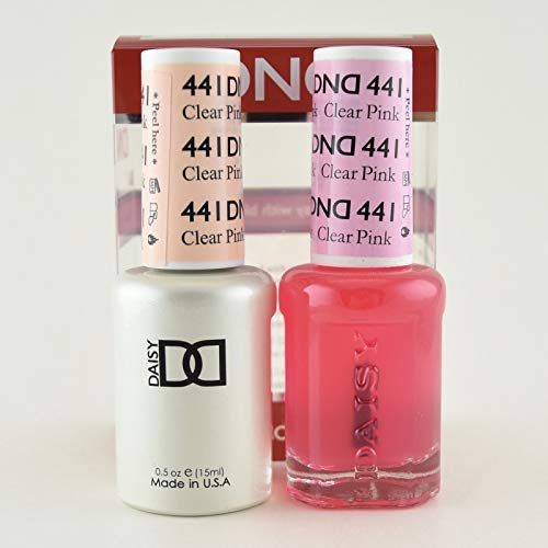 Polish Lacquer Nail Pink - DND *Duo Gel* (Gel & Matching Polish) Spring Set 441 - Clear Pink