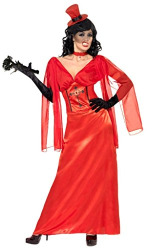 Halloween Red Dracula's Bride Costume -