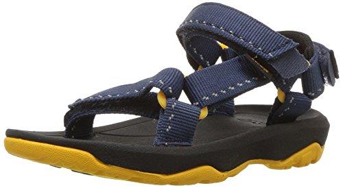 Teva Boys' T Hurricane XLT 2 Sport Sandal, Speck Navy, 7 M US Toddler - Toddler Hurricane Sandal