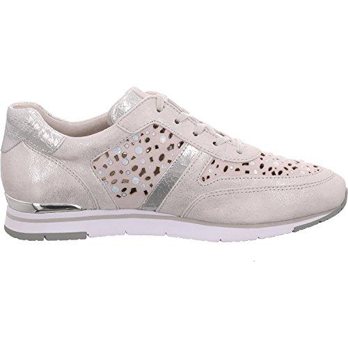 Gabor 64.323.61 - Zapatos de cordones para mujer plata