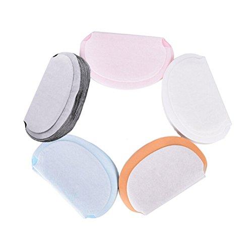 Rocutus 20pcs Summer Deodorants Underarm Sweat Pads for Clothing Disposable Anti Sweat Stickers Sweat Pads