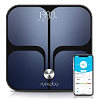 Weight Scale - Wi-Fi Bluetooth Auto - Switch Smart Scale Digital Weight, 14 Body Composition Monitor with iOS, Android APP, Support Unlimited Users, Auto - Recognition, Body Fat Scale for Weight