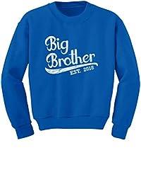 TeeStars - Gift for Big Brother 2018 Youth Kids Sweatshirt