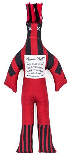 Dammit Doll Underdog Burgundy Stress product image