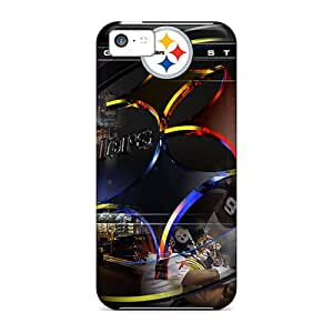 Brand New 5c Defender Case For Iphone (pittsburgh Steelers)