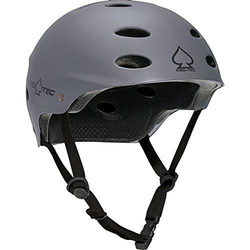 ce CPSC SXP Liner Matte Grey Skate Helmet - (Certified) - Small / 21.3
