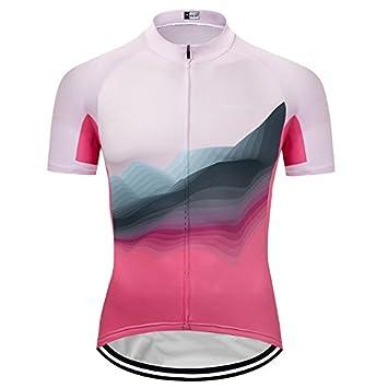 GWJ Frauen Breathable Kurzarm Radtrikot Biking Shirt Cycle Tops Racing Fahrrad Kleidung