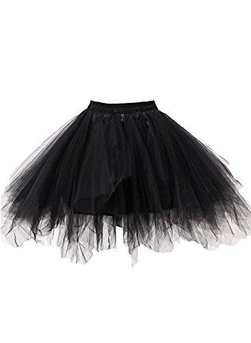 99344c2276 Kileyi Womens Tutu Costume Adult Party Dance Tulle Skirt Short ...