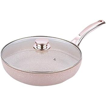 Bisetti BT-28351 Stonerose Aluminium Fry Pan Large Pink
