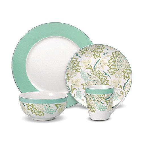 Pfaltzgraff Sketch Paisley 32 Piece Dinnerware Set, Service for 8 by Pfaltzgraff