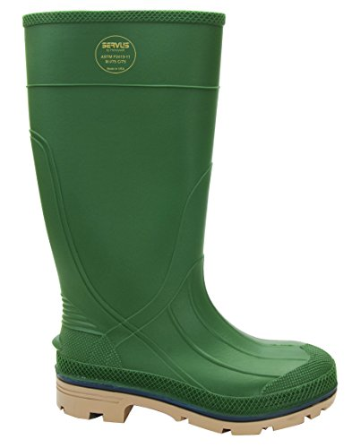 "Servus XTP 15"" PVC Chemical-Resistant Steel Toe Men's Wor..."