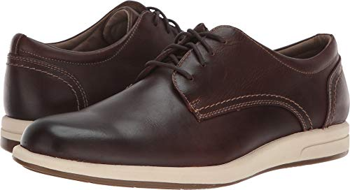 (Dockers Men's Parkview Red Brown Waxy Distressed Full Grain 9 D US D (M))