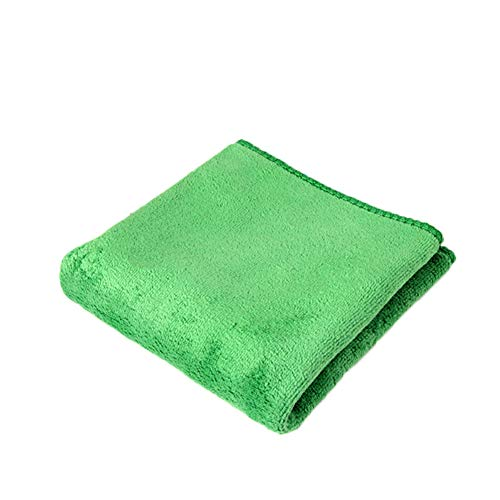 YUSHHO56T Car Cleaning Cloth Car Cleaning And Maintenance Towel 30x70cm Microfiber Car Washing Cloth Strong Water Absorption Cleaning Towel - Green