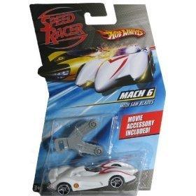 - Hot Wheels Speed Racer Mach 6 with Saw Blades