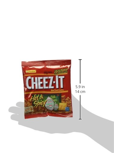 CheezIt Hot and Spicy (Pack of 60) by Cheez-It (Image #8)