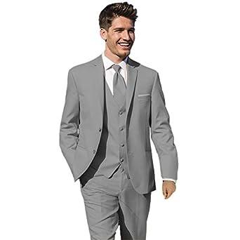 MYS Hombre Justo lo novio boda Smoking Traje pantalón ...