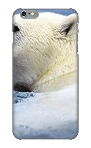 Fashion Tpu Case For Iphone 6 Plus- Animal Polar Bear Defender Case Cover For Lovers