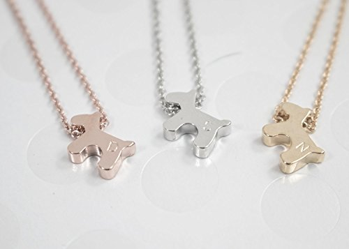 NecklaceDog stamped Personalized Delicate Necklace product image