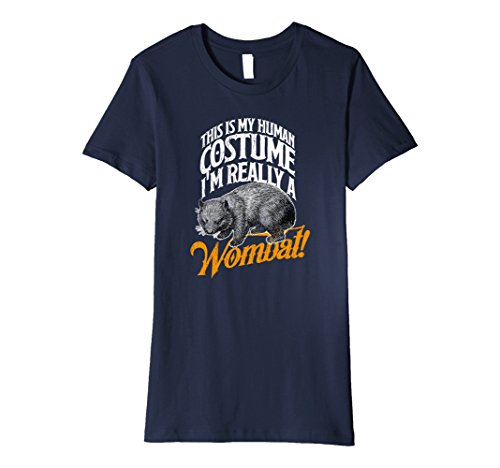 Womens Wombat Human Costume Funny Tee Shirt Wildlife Gift Idea XL (Funny Female Costume Ideas)
