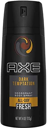 Axe Body Spray Dark Temptation 4Ounce - 4 Pack