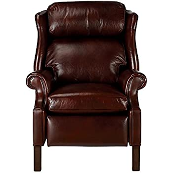 Ethan Allen Townsend Leather Recliner Old English/Chocolate  sc 1 st  Amazon.com & Amazon.com: Ethan Allen Cromwell Leather Recliner Omni/Tobacco ... islam-shia.org