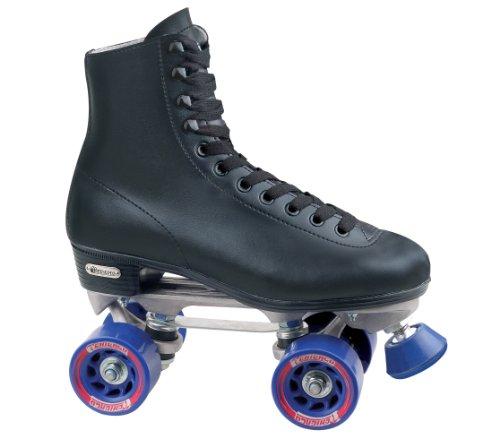 Chicago Men's Rink Skate , Black(Size 8) - Black Roller Skates