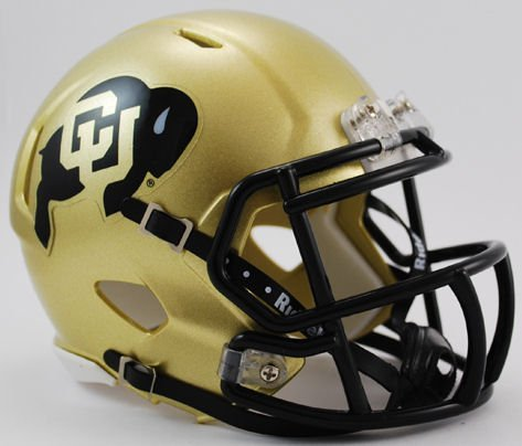 Helmet Buffalo (Riddell NCAA Colorado Buffaloes Speed Mini Helmet)