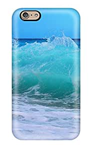 Hot Sea Wave First Grade Tpu Phone Case For Iphone 6 Case Cover