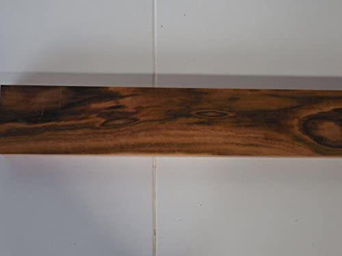 1 junta pie Figured cepillada Goncalo Alves tigerwood, secado en ...
