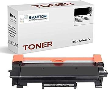 SMARTOMI 1 cartucho de tóner negro de alto rendimiento compatible con cartuchos TN2420 para impresoras Brother MFCL2710DW MFCL2750DW MFCL2730DW ...