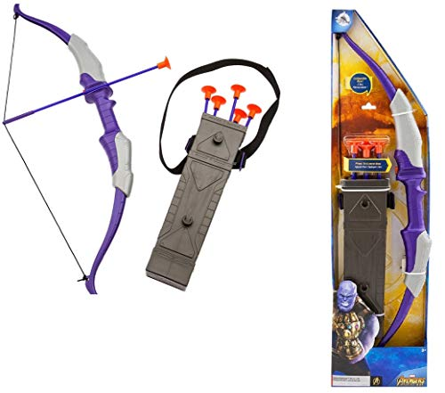 (Hawkeye Deluxe Quiver, Bow and Arrow Set)