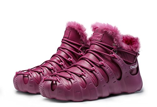 Ankle High Sports Fur Lined Sneaker Burgundy Multi Wear Purpose Boots 6AwAqrxdg