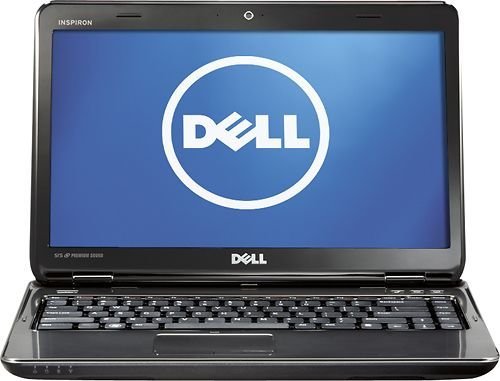 Dell I15-1364BK Inspiron Laptop Computer / 15.6-inch Display Screen / Intel Celeron B820 Dual-core 1.7 GHz Processor / 4GB DDR3 RAM Memory / 320GB Hard Drive / 6-cell Battery / ()