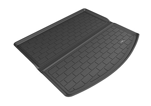 3D MAXpider Cargo Custom Fit All-Weather Floor Mat for Select Mazda CX-5 Models - Kagu Rubber (Black)
