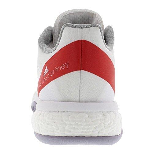 adidas Women's ASMC Barricade Boost White/Dark Callistos/Pearl Grey 7.5 B US