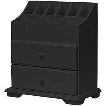 Amazon Com Wood Dresser Top Vanity Cosmetic Organizer