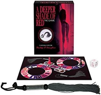 A Deeper Shade of Red/Una Sombra de Rojo Oscuro - Juego de Mesa Erótico para Parejas – Kepher Games: Amazon.es: Salud y cuidado personal