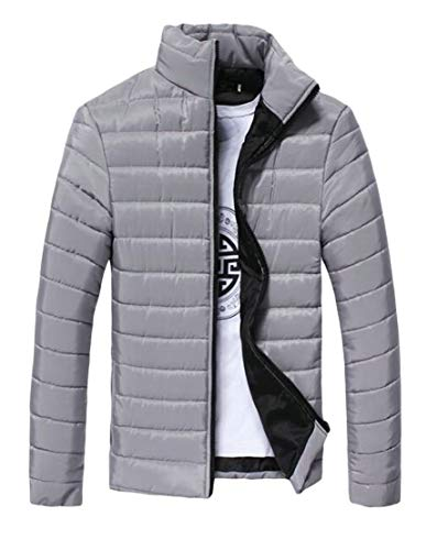 Winter TTYLLMAO Lightweight Solid Stand Silvery Down Collar Men's Warm Jacket Fqww7ZW4A