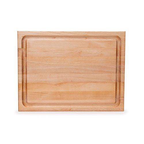 John Boos Maple Wood Edge Grain Reversible Cutting Board with Juice Groove, 24 Inches x 18 Inches x 1.5 Inches by John Boos (Image #5)
