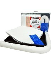 20L Aceite y Kit compacto de derrames de combustible con bandeja de goteo