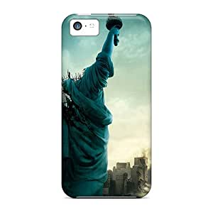 Fashionable Design Statue Of Liberty Destruction Rugged Cases Covers For Iphone 5c New