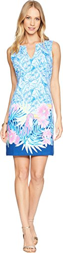 Lilly Pulitzer Women's Harper, Bennet Blue Lets Mango Engineered Shift, M from Lilly Pulitzer