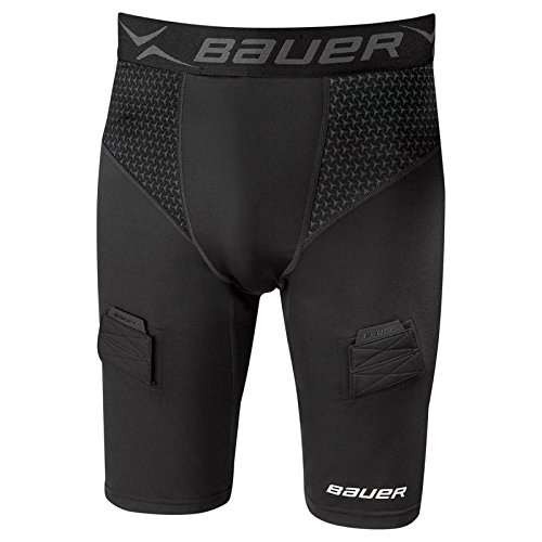 - Bauer Premium Compression Jock Shorts [BOYS], Youth Large