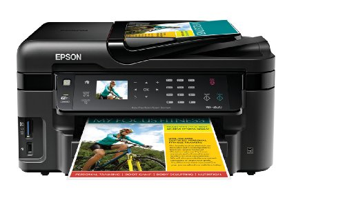 Epson Workforce Wf 3520 Wireless All In One Color Inkjet
