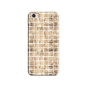 Cover It Up - Brown White Break Mosaic V5 Plus Hard Case