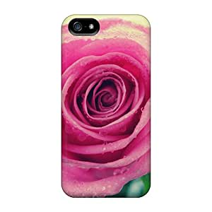 Excellent Iphone 5/5s Case Tpu Cover Back Skin Protector Beauty Rose