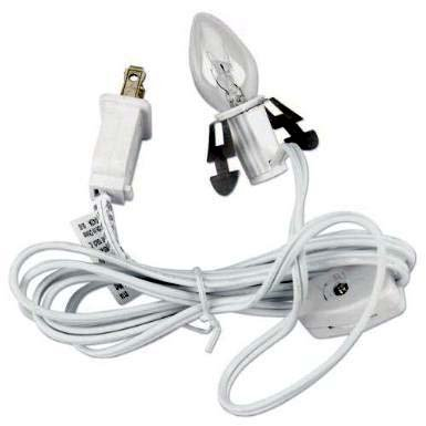 Heartland Valley M0513 Single Light Replacement Cord for Porcelain, 6']()