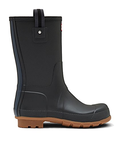Hunter Original Sissinghurst Short Boots Men - Wasserdichte Gummistiefel black